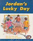 PM Storybooks - Turquoise Level Set C Jordan's Lucky Day (X6) (Progress with Meaning) (0174025971) by Giles, Jenny