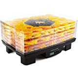 Andrew James Premium Digital Food Dehydrator With Timer And Adjustable Temperature Control - 6 Levels