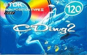 TDK CD2-120R [CD2-120R [ハイポジション用カセット 120分] CDing2]
