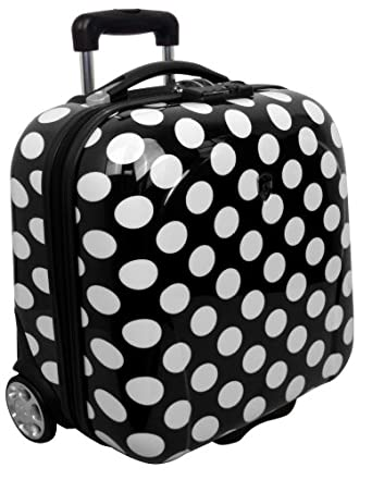 Heys Luggage Ecase Exotic Bag, Polka Dots, One Size
