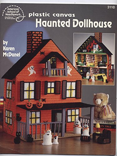 Plastic Canvas Haunted Dollhouse