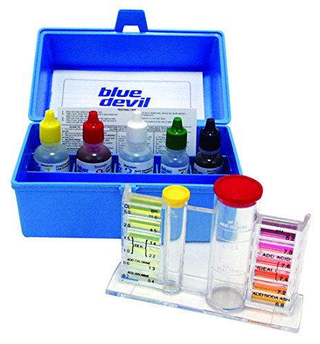Blue Devil B7448 5-Way OTO - Chlorine/Bromine, pH, Alkalinity & Acid Demand (Hot Tub Testing Kit compare prices)