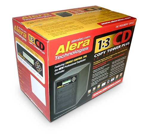 Aleratec 1 3 CD Copy Tower Plus