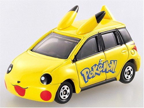 Takara Tomy Tomica #103 Pikachu Car