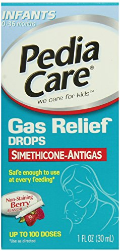 Pediacare Infant Non-Staining Gas Relief Drops, Berry Flavor, 1 Fluid Ounce - 1