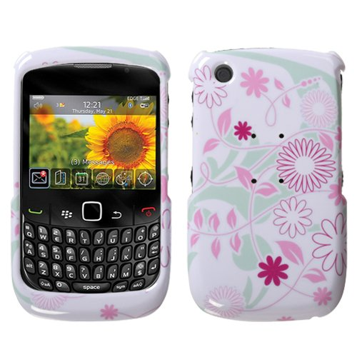 Floral Garden Snap-On Protector Case for BlackBerry