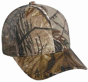 Outdoor Cap Infinity Mesh Back Hat, Mossy Oak Break-Up