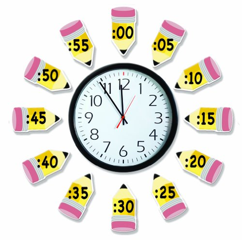 Eureka Telling Time Bulletin Board Sets To Practice Basic Time Concepts (Teachers Supplies For Classroom compare prices)