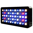 Galaxyhydro™ Led 55x3w Dimmable 165w Full Spectrum LED Aquarium Light Panel for Reef, Coral & Fish