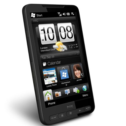 HTC HD2 T8585 Unlocked Smartphone with 5 MP Camera, Windows Mobile 6.5, Wi-Fi, gps navigation – International Version with Warranty (Black)