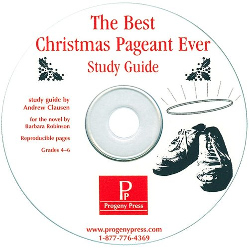 The Best Christmas Pageant Ever Study Guide CD-ROM