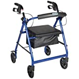Drive Medical Rollator with Fold - up / Removable Backrest