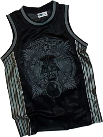 Buy Dark Side -- Darth Vader -- Star Wars Basketball Jersey by Lucasfilm Ltd.