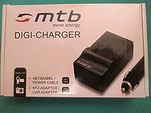Chargeur + Batterie DMW-BCL7 pour Panasonic Lumix DMC-F5, FH10, FS50, SZ3, SZ9, XS1