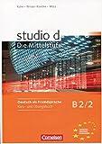Studio D B2/2. Kurs- Und Übungsbuch