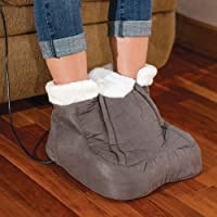 Foot Cozy Heated Massager - Fleece Lined Interior w/ Remote Control from RELAXUS PRODUCTS LTD