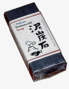 Japanese clay and charcoal facial soap