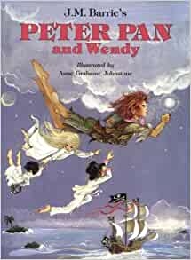 Peter pan and wendy book jm barrie