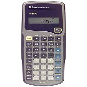 Texas Instruments TI30XA Scientific Calculator $9.77