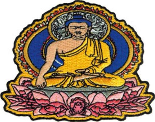 Application Sitting Buddha Patch