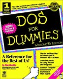 DOS for Dummies: Windows 95 Edition (1568846460) by Gookin, Dan