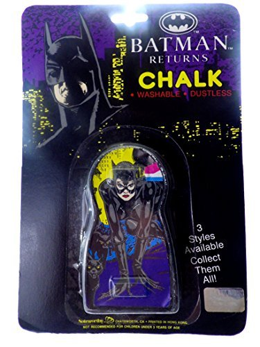 Batman Returns Chalk Catwoman - 1