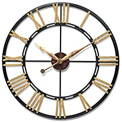 Infinity Instruments Cologne Oversized Wall Clock, Large/45