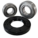 "Nachi High Quality Front Load Maytag Washer Tub Bearing and Seal Kit Fits Tub W10253866 (5 year replacement warranty and full HD ""How To"" video included)"