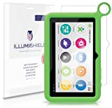 iLLumiShield - OLPC XO Kid's Tablet Screen Protector Japanese Ultra Clear HD Film with Anti-Bubble and Anti-Fingerprint - High Quality (Invisible) LCD Shield - Lifetime Replacement Warranty - [3-Pack] OEM / Retail Packaging