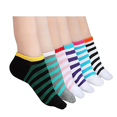 habiter-womens-ankle-no-show-socksathletic-low-cut-cotton-socks-for-women6-pairs