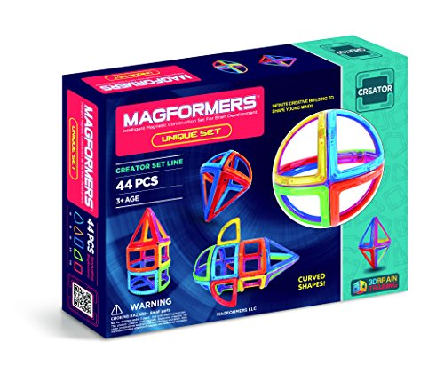 Magformers 44Pc Unique Set JungleDealsBlog.com