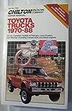 Chilton Repair Manual Toyota Trucks 1970-88