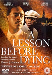 A lesson before dying
