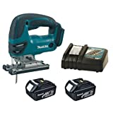 MAKITA 18V LXT BJV180 BJV180Z BJV180RFE JIGSAW, 2 x BL1830 BATTERIES AND DC18RC CHARGER - PF TRADE