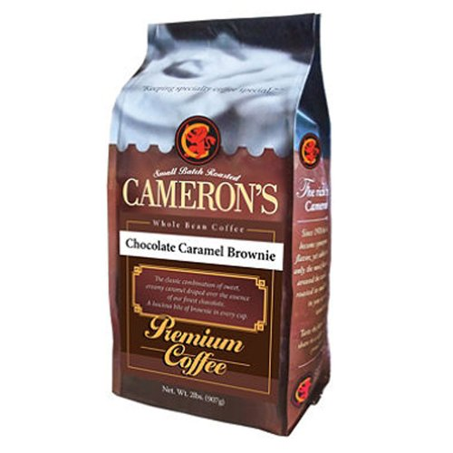 Scs Cameron'S Chocolate Caramel Brownie Whole Bean Coffee - 2 Lbs.
