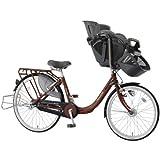 マルイシ(Maruishi) ふらっか~ず プリミヤ FRDXP263H ダークブラウニー C84E 子供乗せ自転車