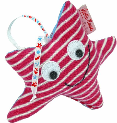 Kathe Kruse 4.5'' Stuffed Rattle, Starfish