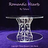 Wedding Cake Stand - Curved with Hearts Theme By Takaraby Takara