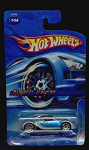 hot wheels 2006 144 bugatti veyron bue silver 1 64 scale not fte toys games. Black Bedroom Furniture Sets. Home Design Ideas