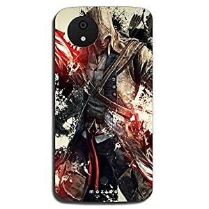 Mozine Assasin Creed printed mobile back cover for Micromax android 1