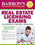 img - for Barron's Real Estate Licensing Exams, 9th Edition book / textbook / text book