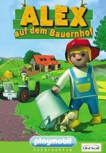 Playmobil - Alex auf dem Bauernhof