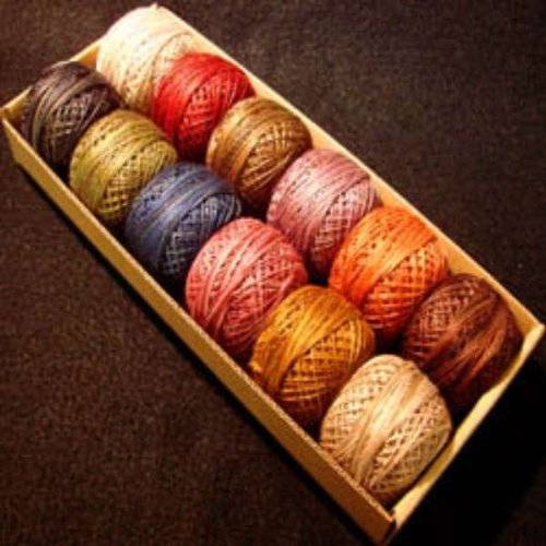 Valdani Perle Cotton Embroidery Thread Size 12 Vintage