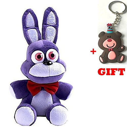 Amazing Toys store 1pcs New Five Nights At Freddy's 4 FNAF Bonnie Plush Toy Doll 10
