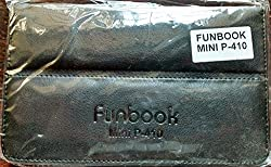 LEATHER FLIP CASE FOR MICROMAX FUNBOOK MINI P410 TABLET FRONT & BACK FLAP COVER STAND HOLDER