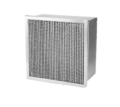 "Filtration Group 16259 Ashrae Cell Box Air Filter, Wet Laid Micro-Fiber Paper, Steel, 12 Merv, Galvanized Steel Frame, 24"" Height X 20"" Width X 12"" Depth (Case Of 1) front-7440"