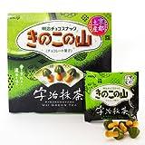 京都限定 明治 きのこの山 宇治抹茶味 お土産/地域限定お菓子