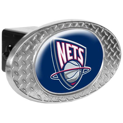 Sports NBA NETS Metal Diamond Plate Trailer Hitch Cover/High Polish Metal
