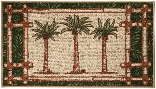 Bacova Oasis Palm Tree Trio Berber Rug No Size Coconuas199