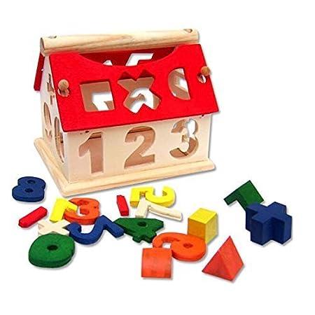 NUOLUX blocs de construction en bois bricolage jouets éducatifs